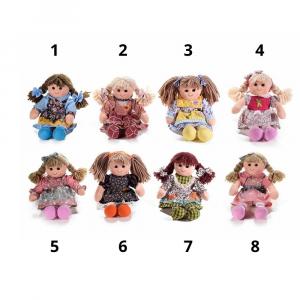 Bambole media 32 cm in stoffa imbottita