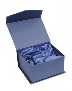 Cubo fermacarte in vetro bianco cm.6x6x6h