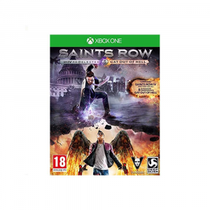 Saints Row IV re elected / Gat Out of Hell - USATO - XONE