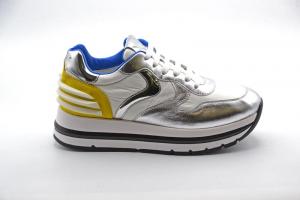 NOVITA' P/E 2021 Voile-Blanche Sneakers Donna Maran Power Metallic Goatskin/Pa 0012015753.03.1Q23