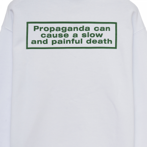 Felpa Propaganda - WEED Hoodie SS21 White
