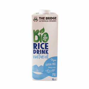 BIO RICE DRINK NATURAL 1000ML