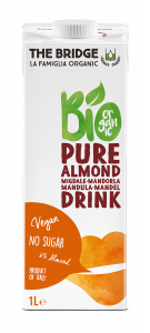 BIO RICE DRINK MANDORLA 1000ML