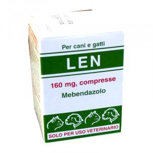LEN (20 cpr) – Contro i parassiti intestinali di cani e gatti