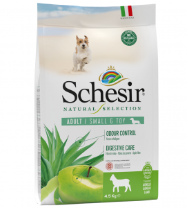 Schesir Dog - Natural Selection - Adult - Toy/Small - 4,5 kg
