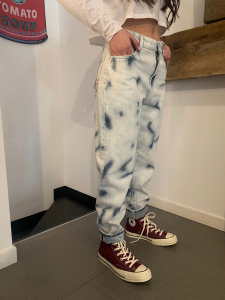 Jeans Amish Supllies Donna Lizzie Chiaro Maltinto