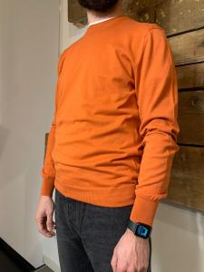 Maglione Hosio Uomo Girocollo 100% Cotone Mango