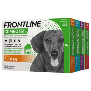 FRONTLINE COMBO SPOT-ON FIALETTE ANTIPARASSITARIE PER CANI