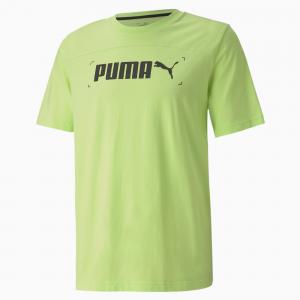 T-shirt Puma -  grafica da uomo NU-TILITY sharp green