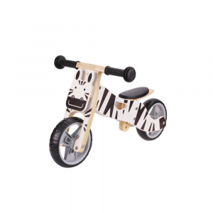 Udeas Bici senza pedali cavalcabile 2 in 1 Varoom Minibike Zebra