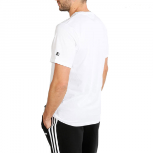 Starter T Shirt Logo Bianca da Uomo