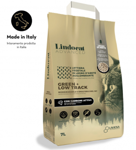 Lindocat Advanced - Green + Low Track - con Carboni Attivi - 7 litri