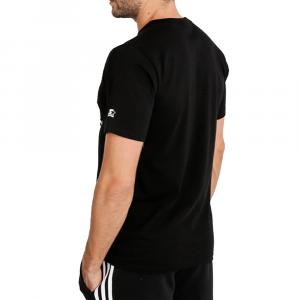 Starter T Shirt Logo Nera da Uomo