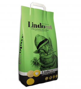 Lindocat - Lovable Nature - Lettiera Vegetale Agglomerante - 6 litri