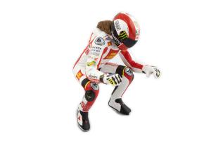 Figurine M. Simoncelli MotoGP 2011 Wheelie 1/12 Minichamps
