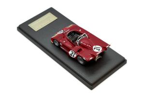 Alfa Romeo 33Tt3 M Sebring 12 Hours 1972 #31 Revson Stommelen 1/43 Mg Model