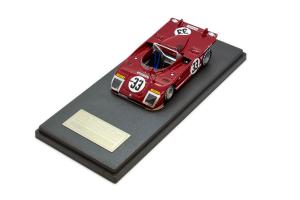 Alfa Romeo 33Tt3 Sebring 12 Hours 1972 #33 Vaccarella Hezemans 1/43 Mg Models