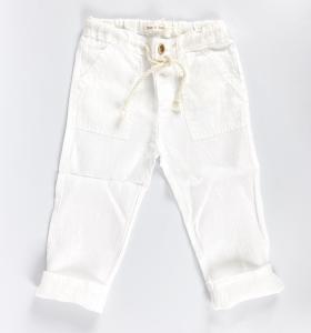 Pantalone in lino naturale
