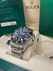 Rolex  Sea-Dweller Deepsea  126660  D-Blue