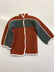 Bog Jacket by Elizabeth Zimmmermann