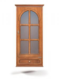 Vitrina colgante 1 puerta 1 cajón - PROMO