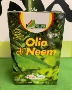 OLIO DI NEEM Concentrato 250ml