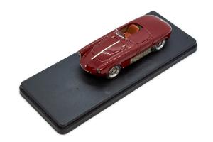 Alfa Romeo 2000 Sportiva Spyder Coda Tronca Stradale Amaranto 1955 1/43 Jolly Model