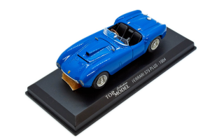 Ferrari 375 Mm 1954 Blue 1/43 Top Model Collection Made in Italy