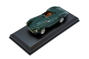 Aston Martin DB3S Street 55 Green 1/43 Top Model Collection Made in Italy