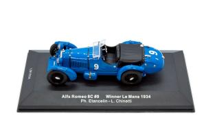 Alfa Romeo 8C Winner Lm 1934 1/43 Ixo