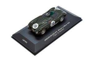 Jaguar Xk 120c #18 1953 1/43 Ixo
