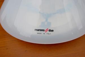Coppia di lampade vintage Murano Due
