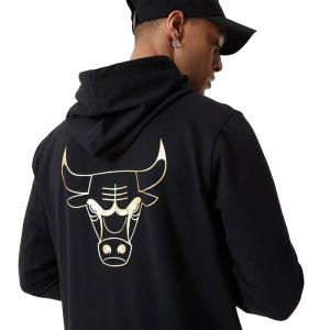 New Era Felpa Chicago Bulls Nera da Uomo