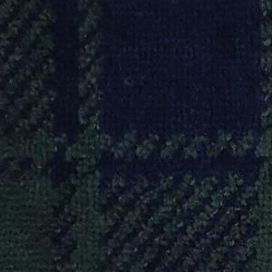 Accappatoio UOMO in spugna con cappuccio GABEL Tartan verde