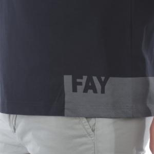 T-shirt uomo FAY NPMB3421310SHOU807 -21