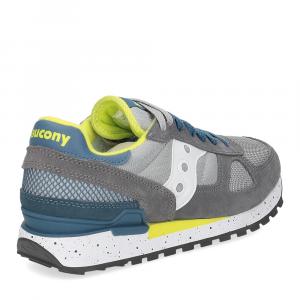 Saucony Shadow Original grey blue yellow-5