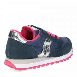 Saucony Jazz Original blue pink-5