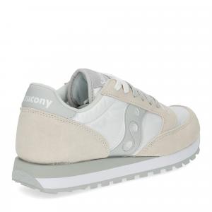 Saucony Jazz Original white grey-5