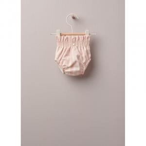 Coulotte a righe in cotone leggero, ottimo per neonati e bambine, fino a 24 mesi. La morbida fascia elastica offre il miglior comfort.