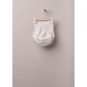 culotte COTTON BABY con stampa floreale in cotone leggero, ottimo per neonati e bambine, fino a 24 mesi. La morbida fascia elastica offre il miglior comfort.