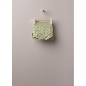 Coulotte lavorato a maglia in cotone meravigliosamente morbido, ottimo per neonati e bambine, fino a 24 mesi.