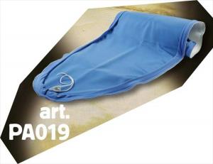 Lelit PA019 rivestimento per asse da stiro Poliestere Blu, Bianco