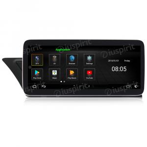 ANDROID navigatore per Audi A4 AudiA5 2008-2016 MMI 2G 10.25 pollici GPS WI-FI Bluetooth MirrorLink 4GB RAM 32GB Octa-Core 4G LTE