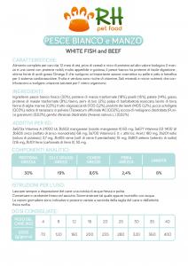 Pesce Bianco e Manzo Grain free