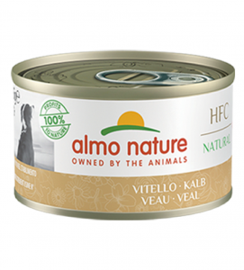 Almo Nature - HFC Dog - Adult - Natural - 95g x 6 lattine