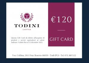 Gift Card 120