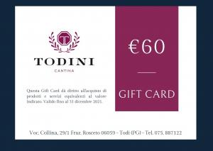 Gift Card 60