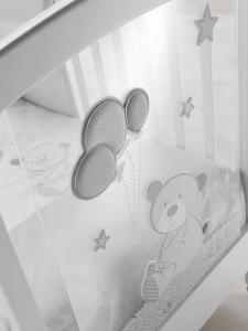 Lettino per neonati con Oblò linea Tobia by Erbesi