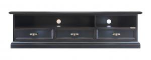 Low TV cabinet framed drawer fronts
