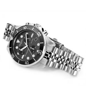 orologio cronografo uomo in acciaio Vagary collezione Aqua39 crono